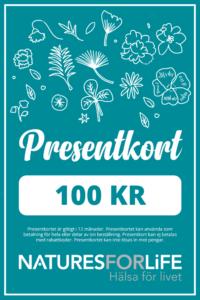 Presentkort kosttillskott & hälsokost