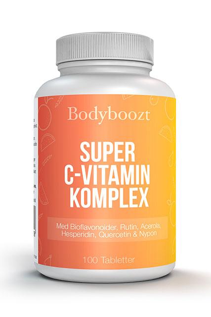 Boddyboozt Super C-vitamin komplex